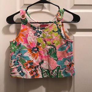 Youth Girls Lilly Pulitzer for Target Crop Top !